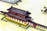 平安京の「羅城」推定図