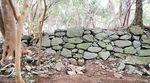 島津義弘陣跡主郭部の南面石垣