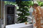 大江季雄選手の活躍を顕彰する記念碑