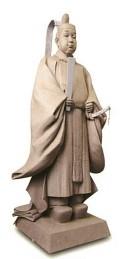 豊臣秀頼の銅像の原型